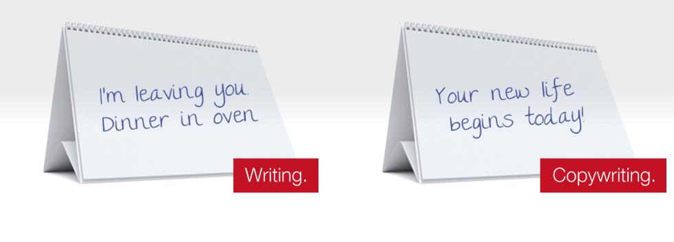 Copy writer or copywriter