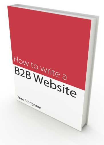Free copywriting ebook: How to write a B2B website