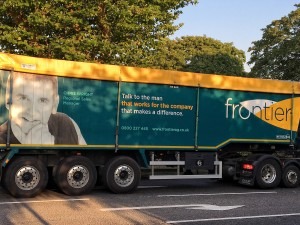 Frontier lorry