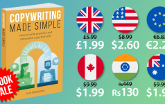 Special offer on 'Copywriting Made Simple' ebook