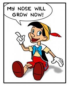 Paradoxical Pinocchio