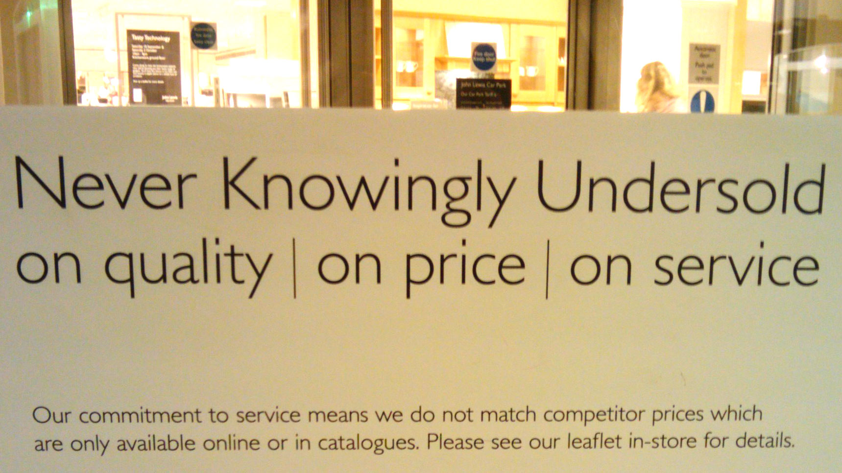 Never knowingly understood - ABC Copywriting