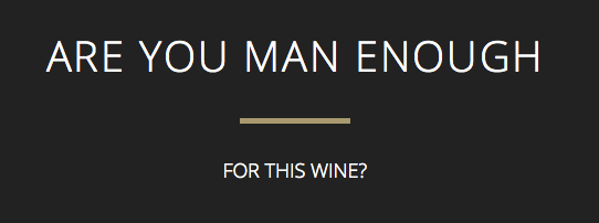 are you man enough