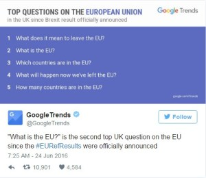 google searches what is eu