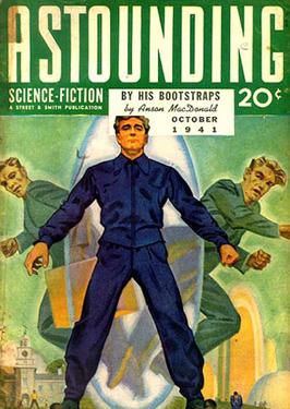 'By His Bootstraps' featured in 'Astounding Science-Fiction'