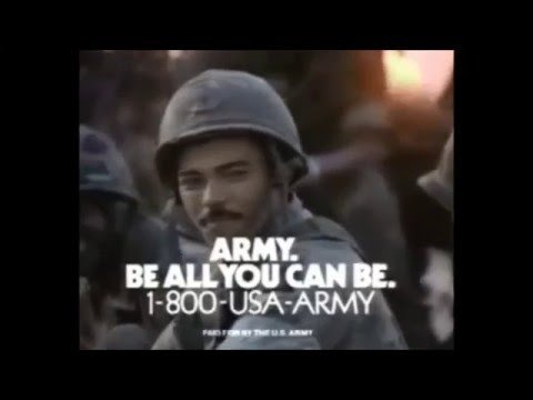 US Army 'Be All You Can Be' TV spot